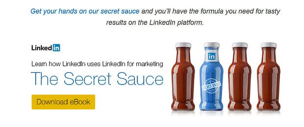 LinkedIn eBook CTA