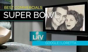 Google's Super Bowl Loretta Ad