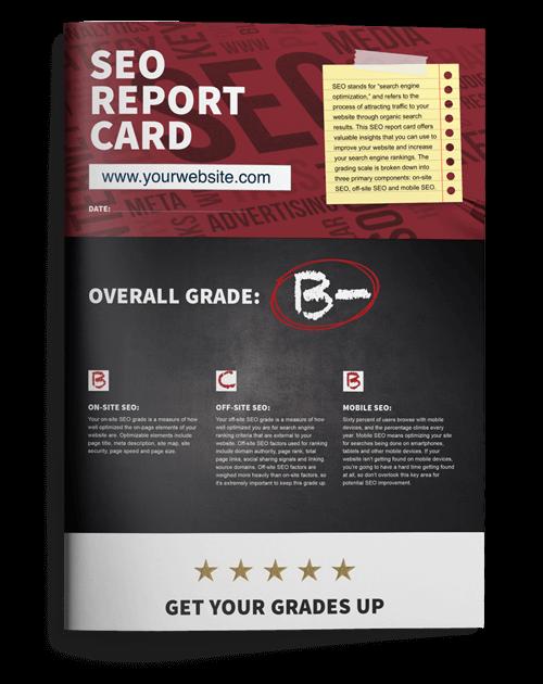 SEO Report Card: Score Your SEO
