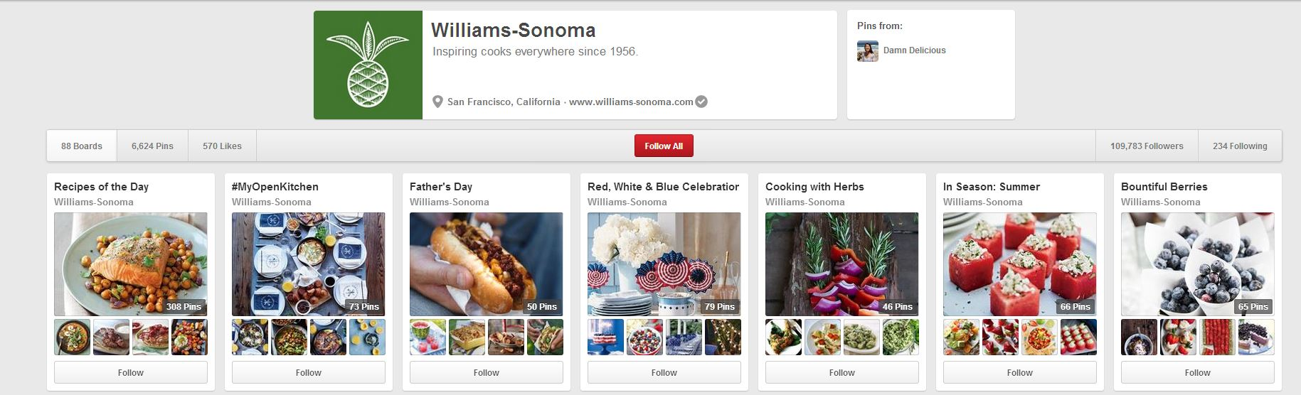 william-sonoma-pinterest
