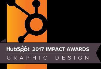 Hubspot 2017 Impact Award Graphic Design
