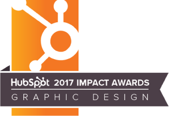 Hubspot 2017 Impact Award Graphic Design