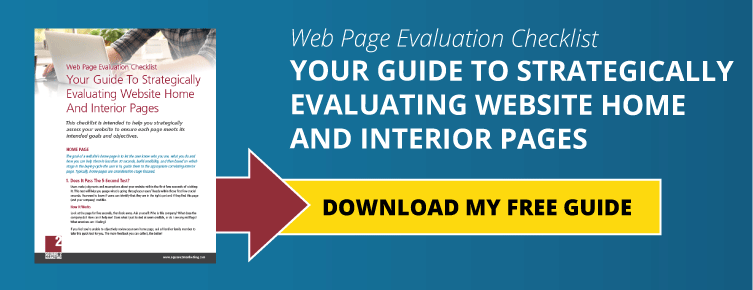 Web Page Evaluation Checklist: Your Guide To Strategically Evaluating Website Home And Interior Pages