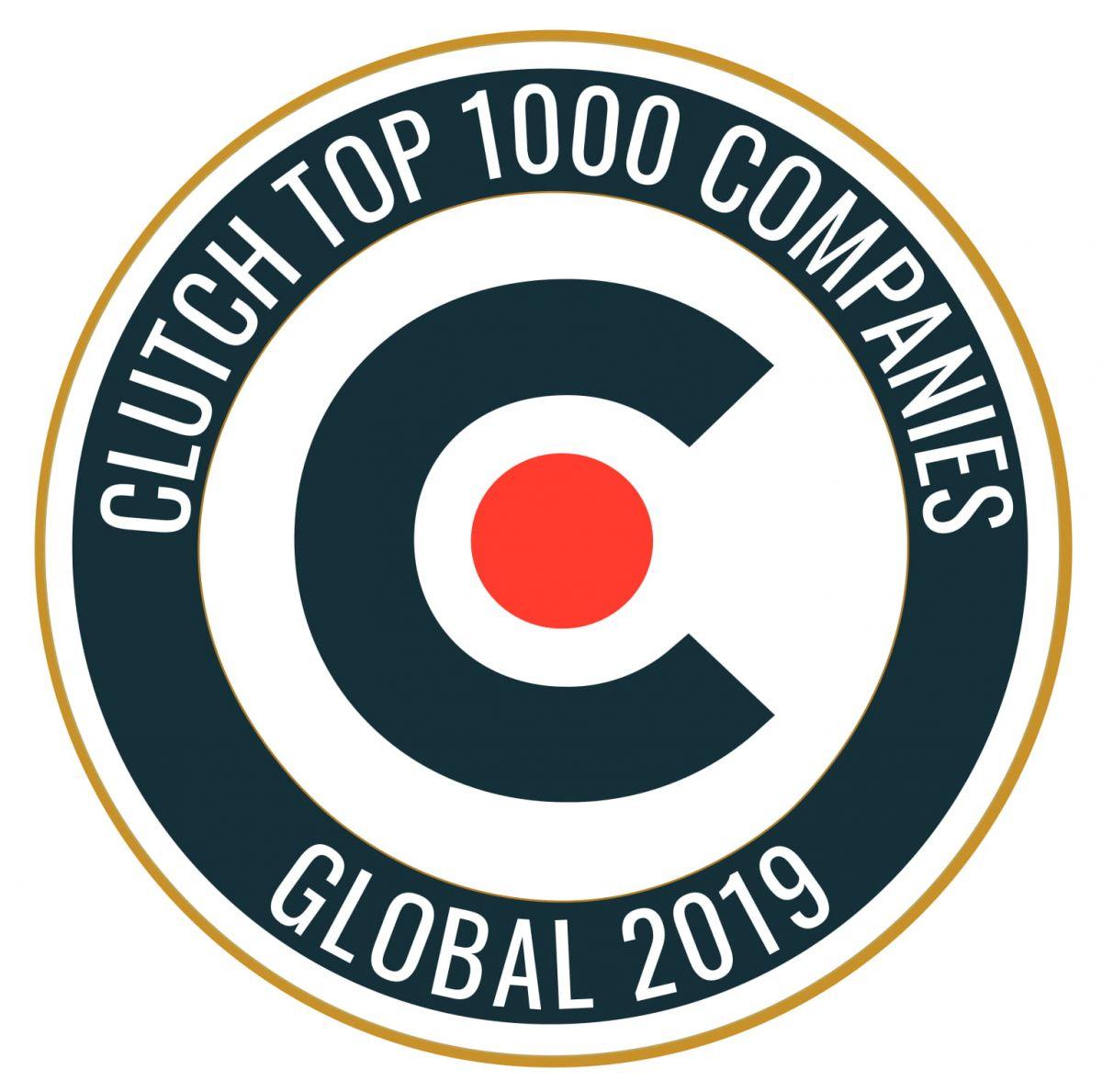 Clutch 1000 Agency 2019