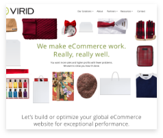 Virid wanted to stand out in a new market. We gave them new ways to attract, engage and nurture their target audience.
