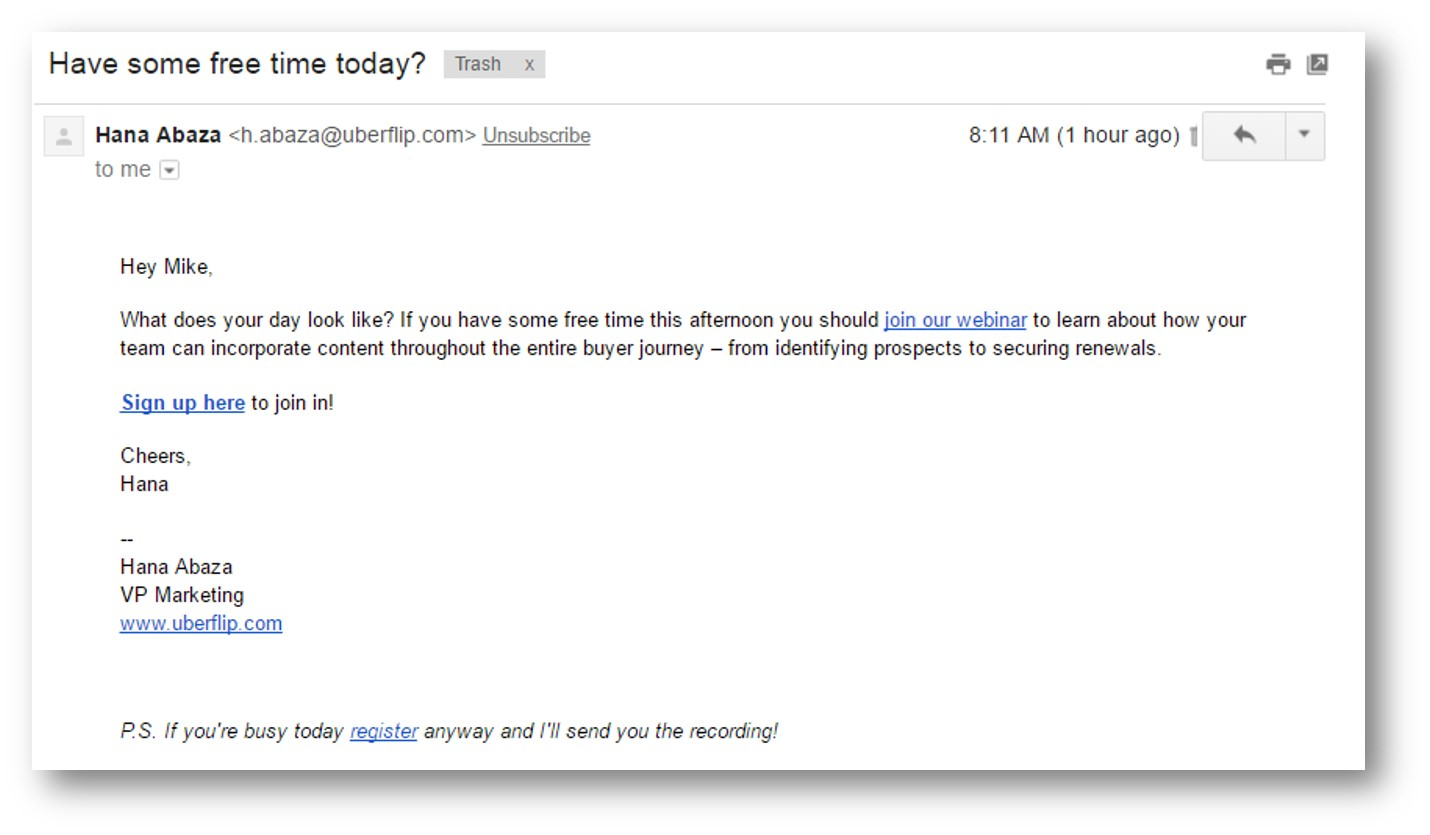 Plain-Text Emails Vs. HTML Emails: Which Performs Best With Inbound Marketing?