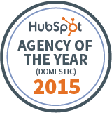 HubSpot Agency Of The Year 2015