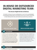 Read The Guide: In-House Or Outsourced Digital Marketing Team?