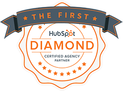 First HubSpot Diamond Partner