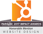 Website Design, Honorable Mention, HubSpot 2017 Imact Awards