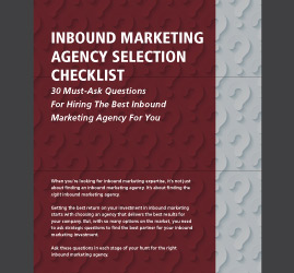This checklist includes 30 questions you must ask any inbound marketing agency before hiring them.