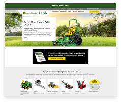 Using an Agile, priorities-based approach to marketing, we helped a John Deere dealer launch a new website in less than 60 days.