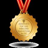 Awarded Top 100 Inbound Marketing Blog
